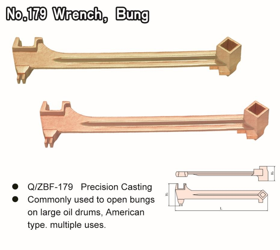 No. 179 Wrench, Bung