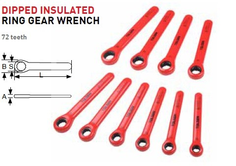 Dipped Insulated Wrenches & Sockets