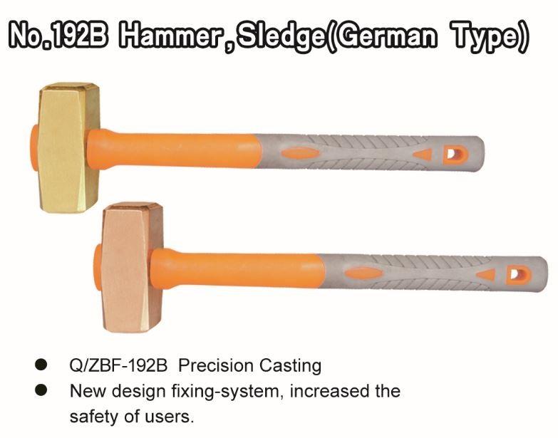 No. 192B Hammer, Sledge (german Type)