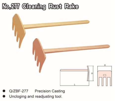 No.277 Cleaning Rust Rake