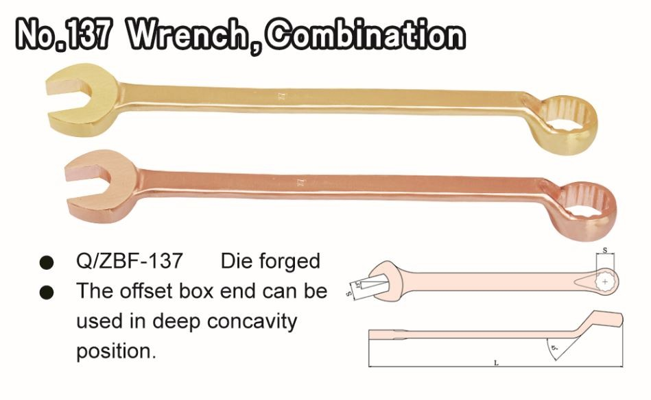 No. 137 Wrench Combination Ratchet