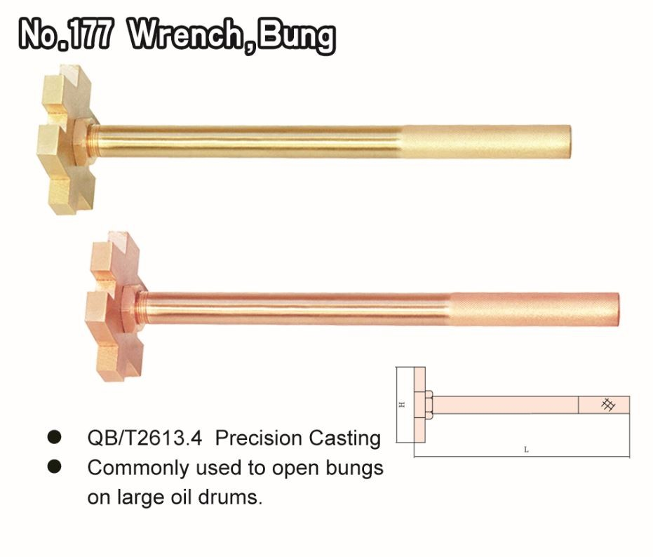 No. 177 Wrench, Bung