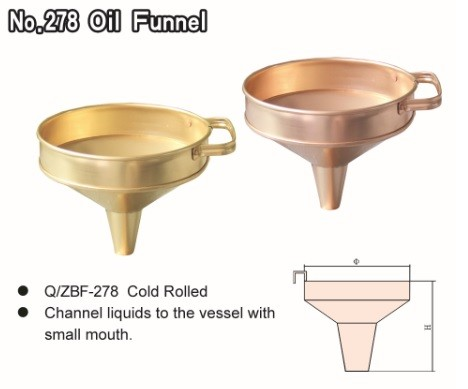 No.278 Oil Funnel