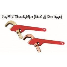 No. 131E Wrench Pipe (Bent & Hex Type)