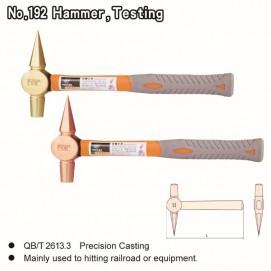 No. 192  Hammer, Testing