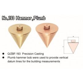 No. 193 Hammer, Plumb