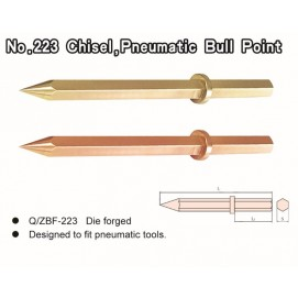 No. 223 Chisel, Pneumatic Bull Point