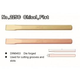 No. 225C Chisel, Flat