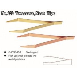 No.258 Tweezers Neat Tips